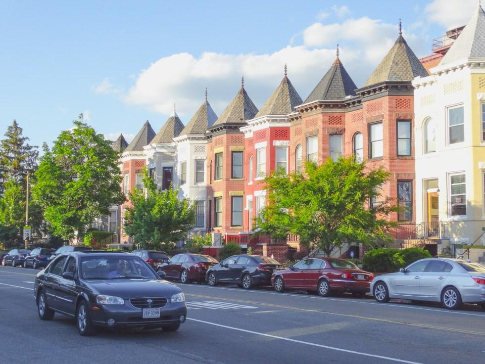 Viktorianische Architektur im Szeneviertel Shaw
