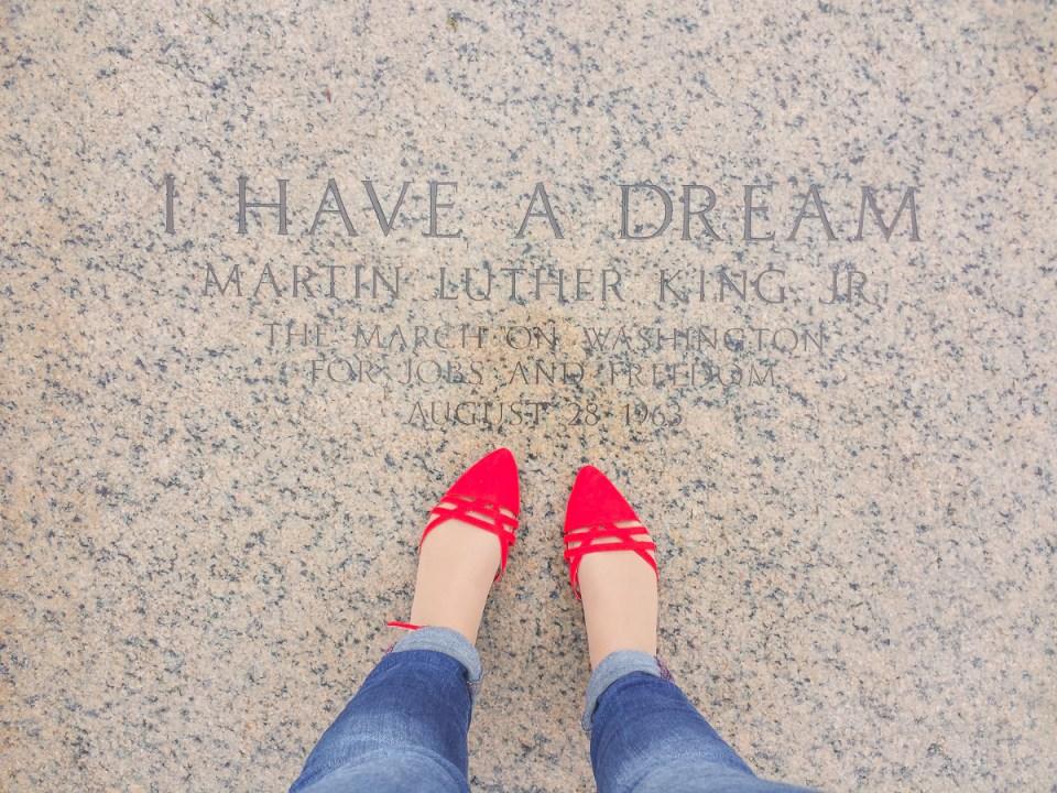 Die berühmten Worte von Martin Luther King
