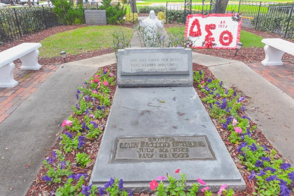 Mary McLeod Bethune's Grabstätte Daytona Beach
