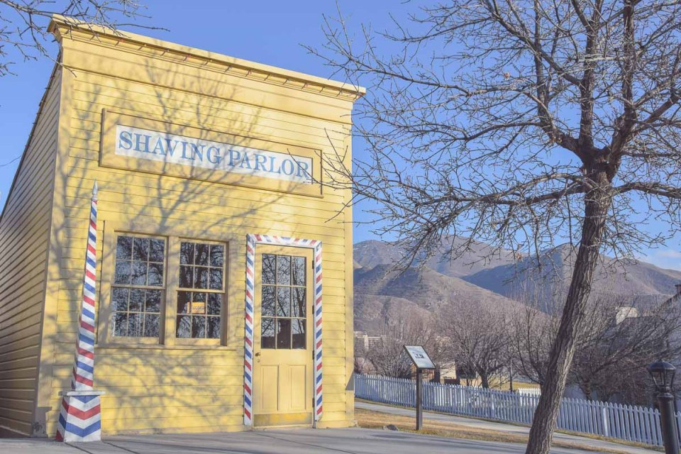 This is the place Heritage Park Utah Freilichtmuseum