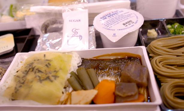A380 機内食