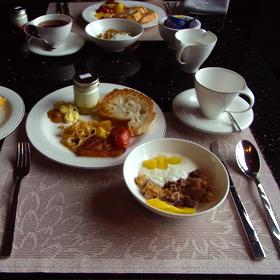 ホテル ミューズ バンコクの ヨーロッパな朝食