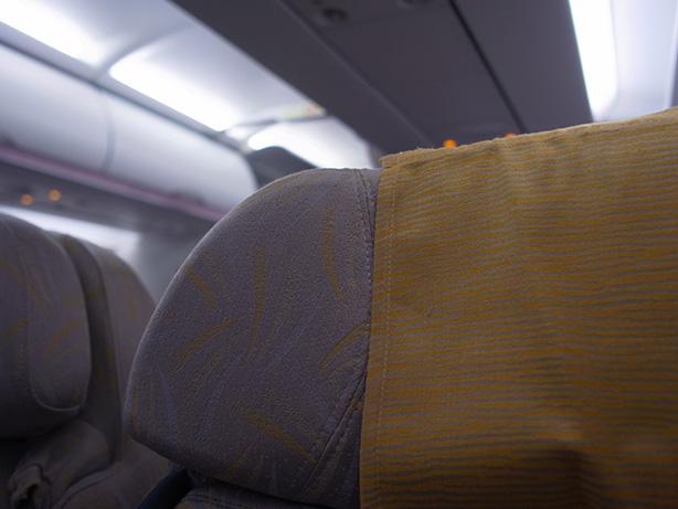 仁川空港から羽田空港まで アシアナ航空 ビジネスクラス搭乗