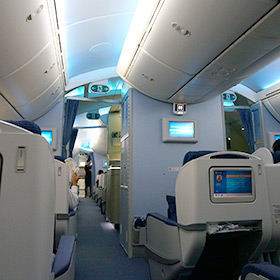 恋焦がれたB787での初フライトは、ANA 羽田⇒シンガポールへのビジネスクラス