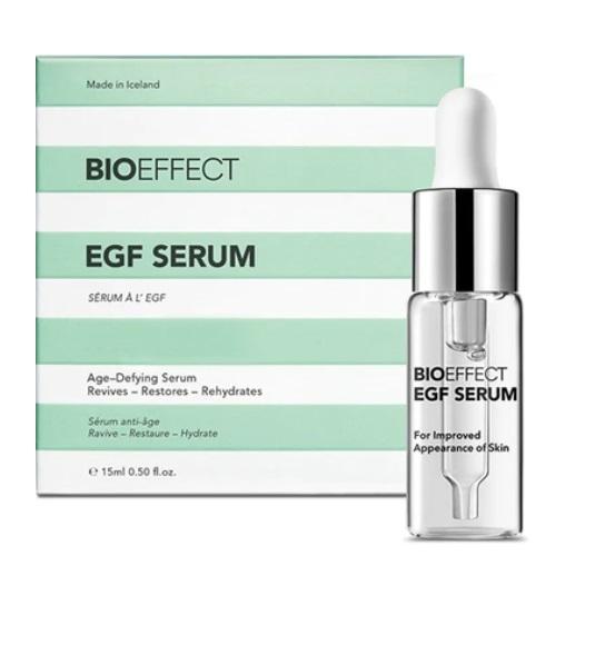 Bioeffect serum is an Icelandic skin care secret that is top shelf.