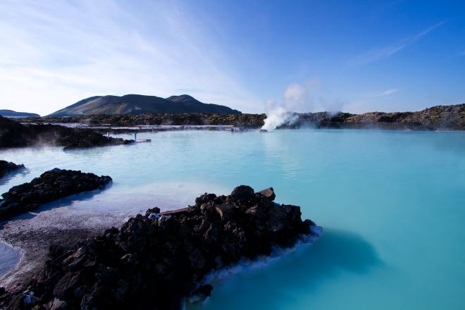 The Blue Lagoon and other geothermal spas are staples of Icelandic skin care
