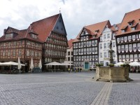 A Reconstructed City Center in Hildesheim