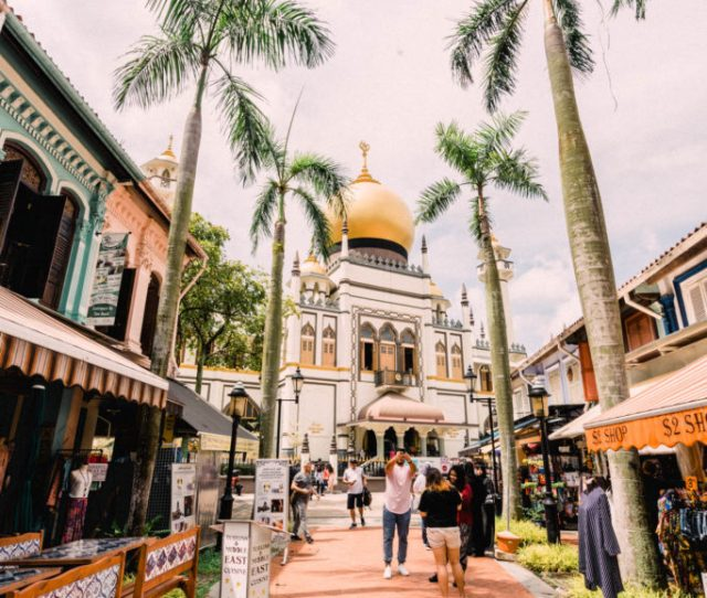 Best Photo Spots In Singapore Mosque In Kampong Glam
