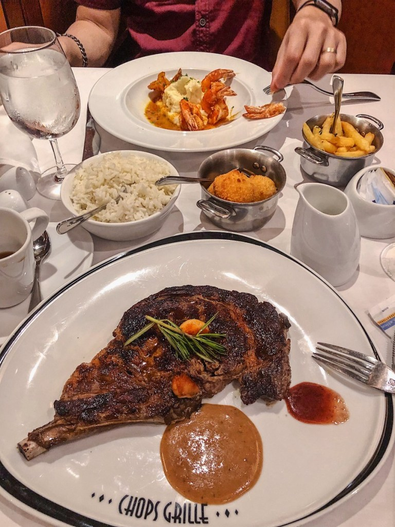 Dining Onboard Royal Caribbean's Enchantment of the Seas