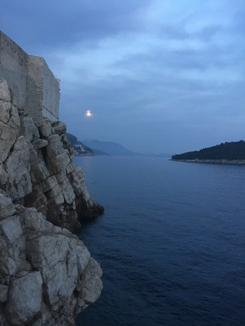 Dubrovnik, Croatia where Game of Thrones is filmed