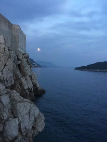 Dubrovnik, Croatia where Game of Thrones is filmed
