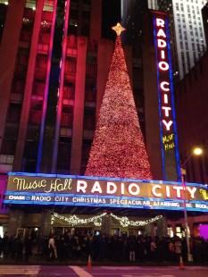 Radio City Music Hall, holiday-style