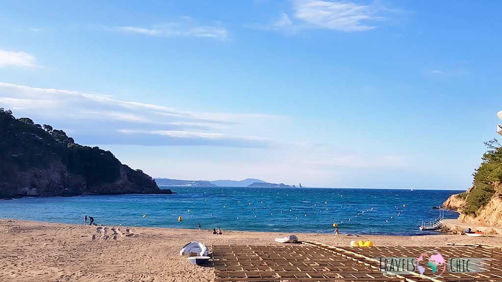Playa Es Castell de Palamós Costa Brava
