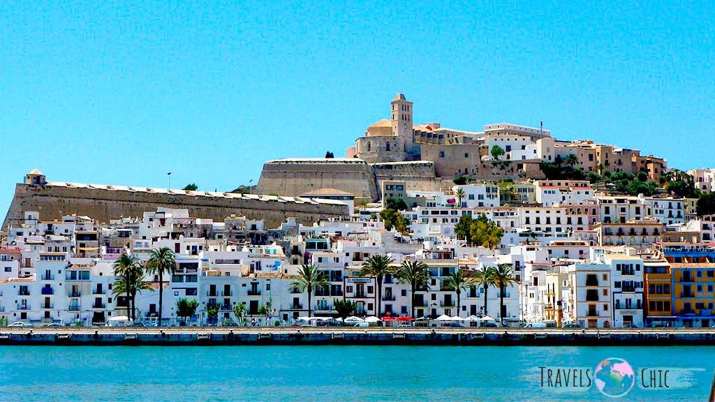 Casco histórico Ibiza conocido como Dalt Vila