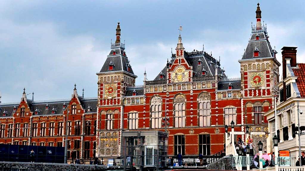 Estación Central de trenes Amsterdam