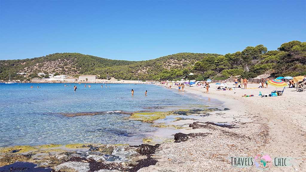 PLaya de Ses Salines, una de las mejores playas de Ibiza