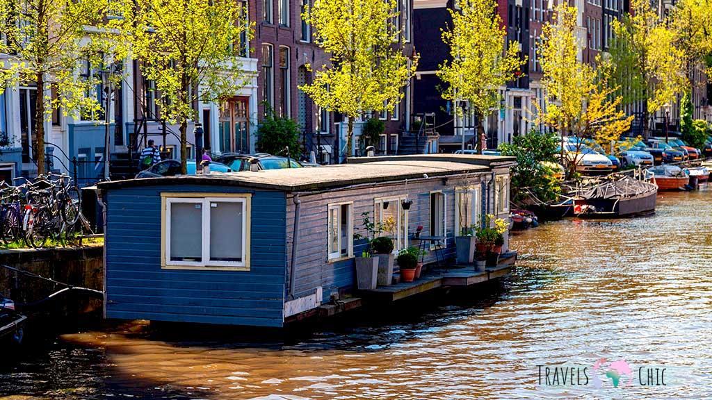 casas flotantes que ver en amsterdam