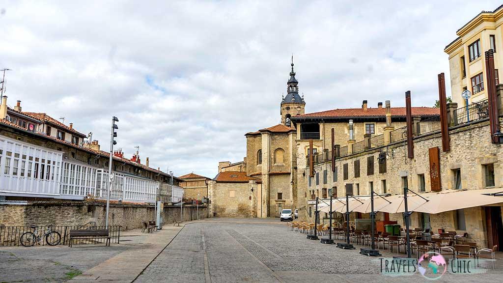 Plaza del Machete que ver en Vitoria y en el País Vasco