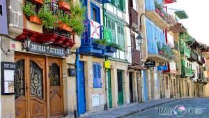 Casas de colores que ver en Hondarribia