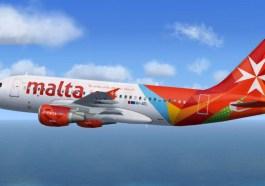 Air-Malta plane