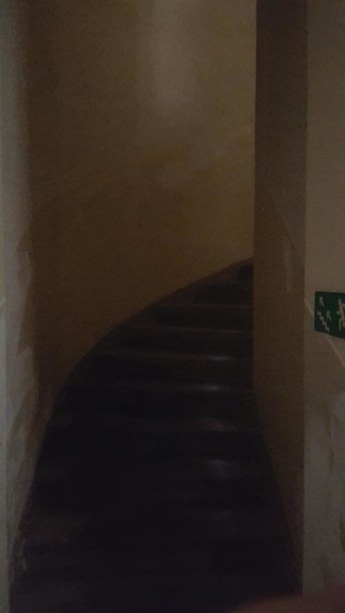 schody gora