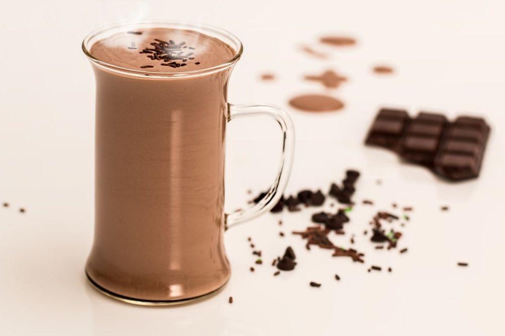 Korzyści z picia czekolady