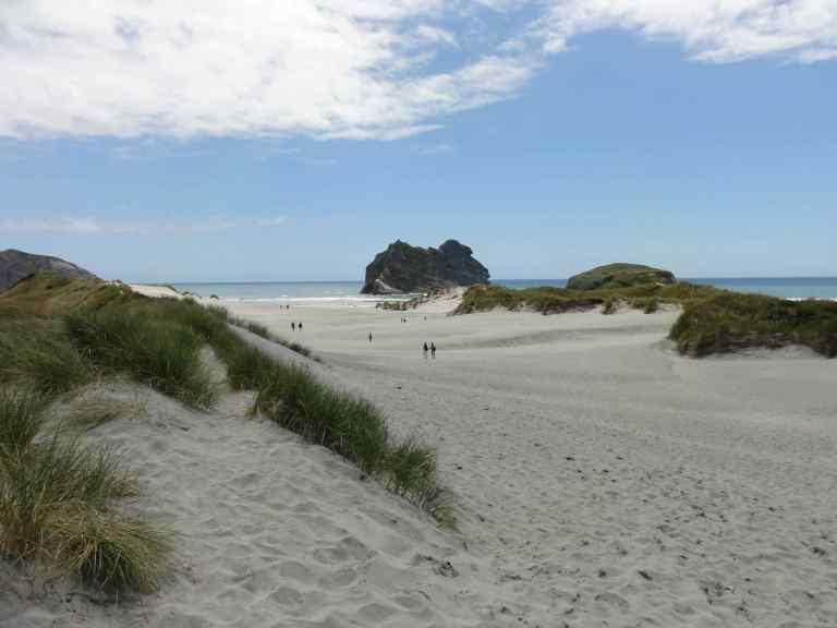Whakariki Beach