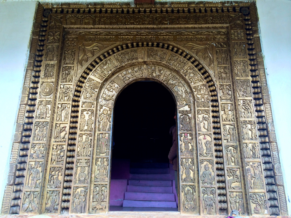 Pavasi Devta Temple Entrance