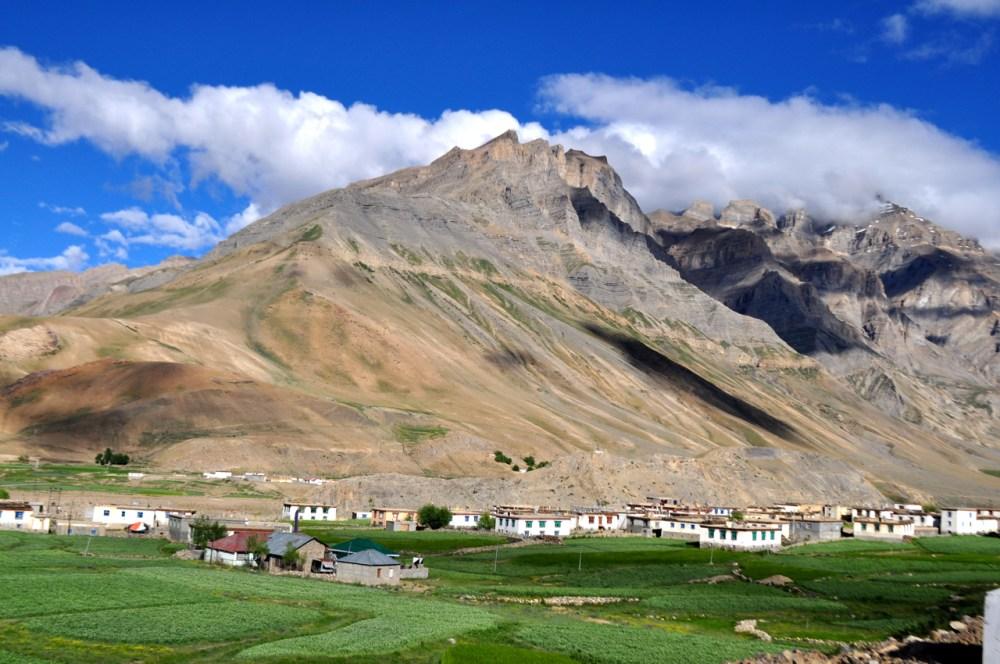 Sagnam Village, Spiti.