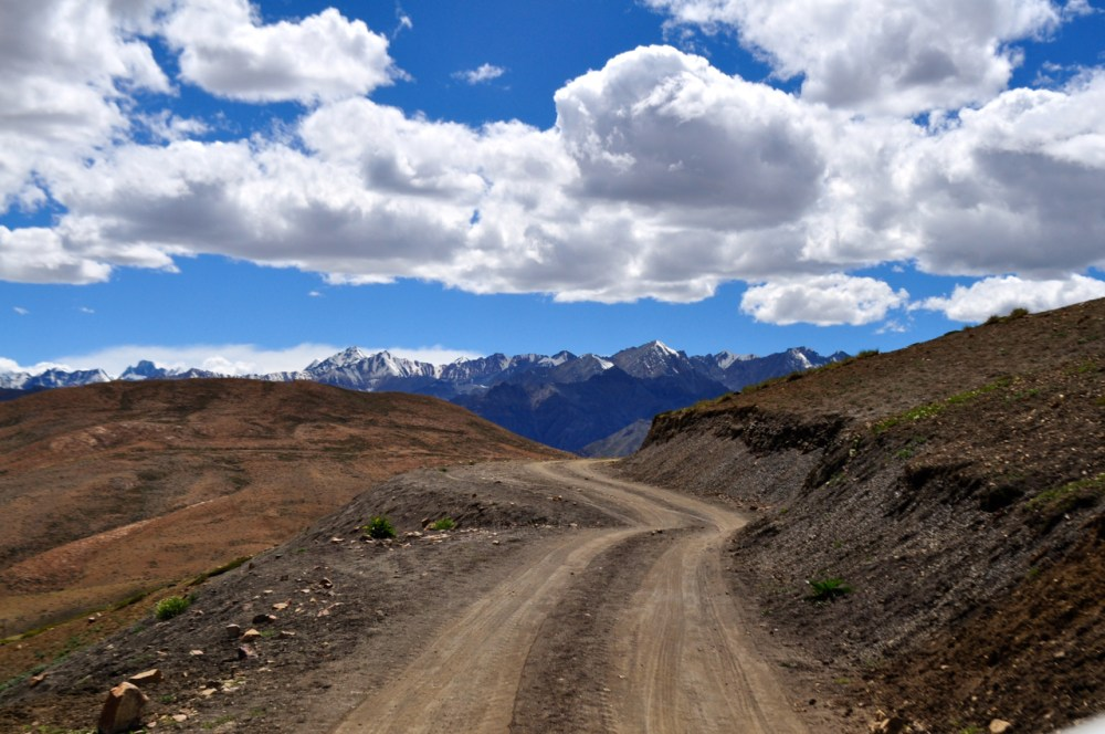 Road to Komic Village.