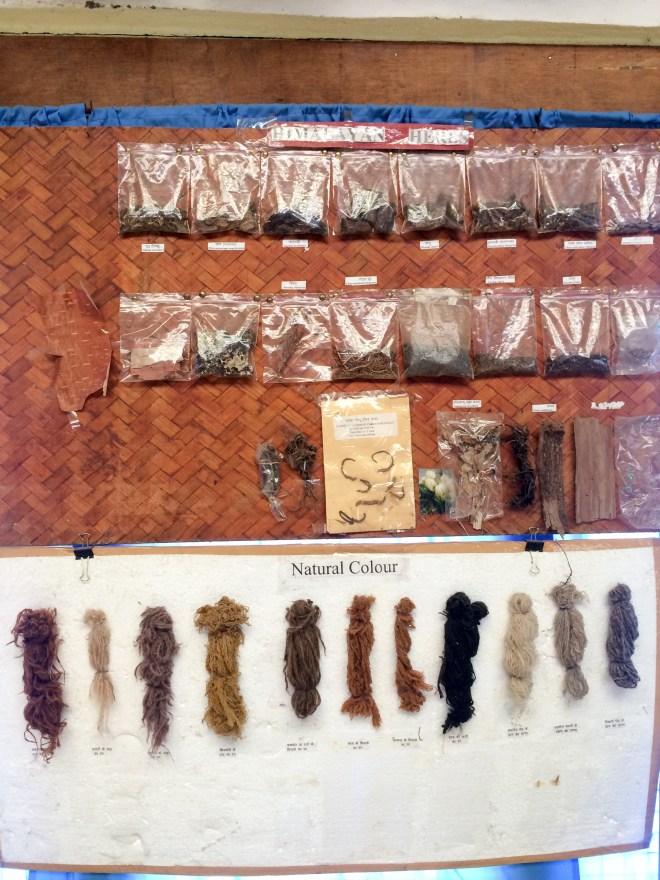 Various treasures in the tribal heritage museum