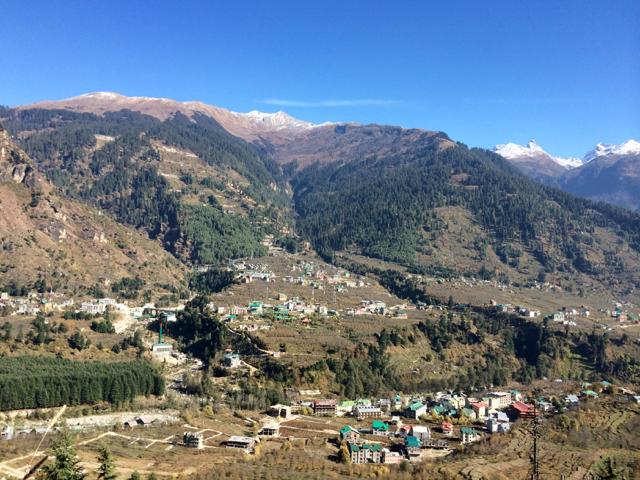 Naggar valley views