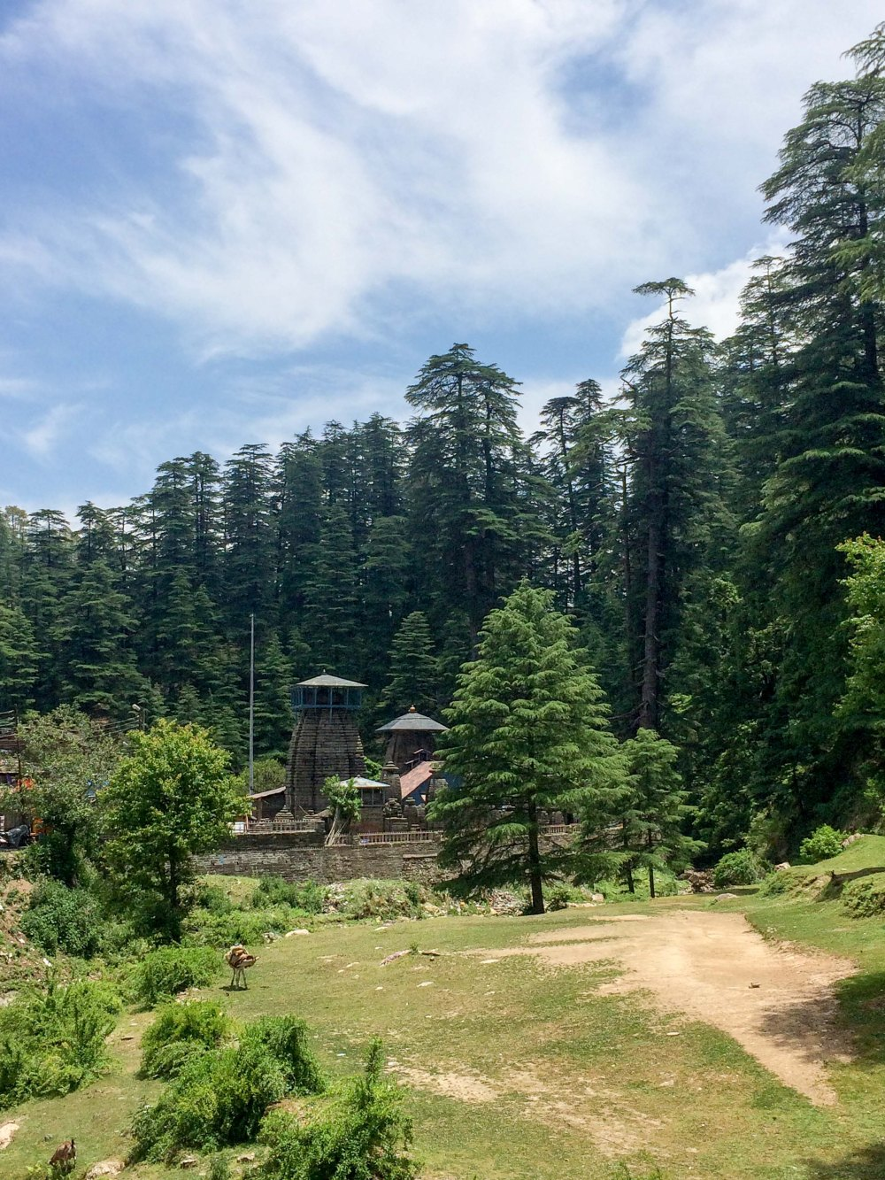 First sight of Jageshwar Temple Complex
