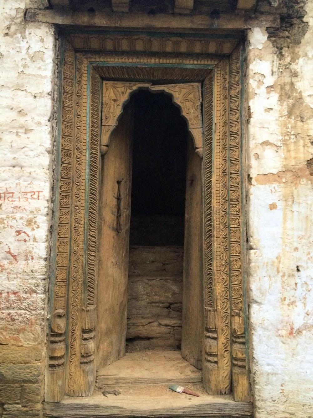 Jageshwar Door Traditional Carved