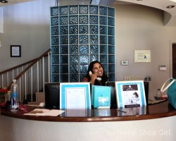 Journey's Spa reception desk