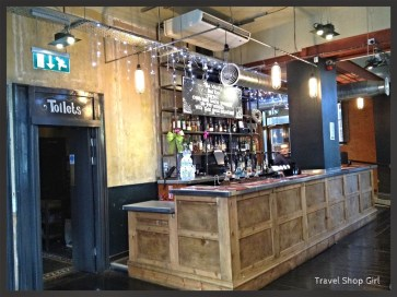 One of the bars inside Urban Tap House