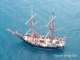 For a real adventure, try out a Doubloon Pirate Ship excursion