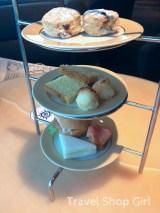 Afternoon tea tray