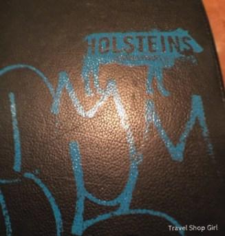 Holsteins menu