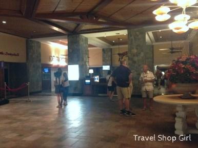 Lobby inside Marriott Frenchman's Reef Resort & Cove