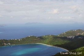 Looking toward Magen's Bay from Mountain Top. I think that is Jost Van Dyke (BVI) with Tortola (BVI) in the background.