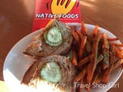 Reuben at Native Foods Cafe