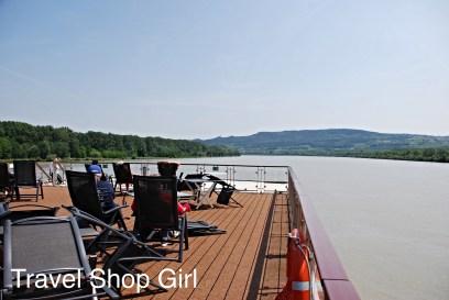 Sailing down the Danube