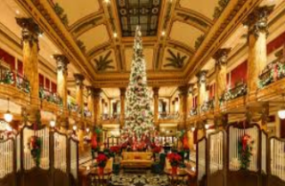 jefferson hotel at christmas