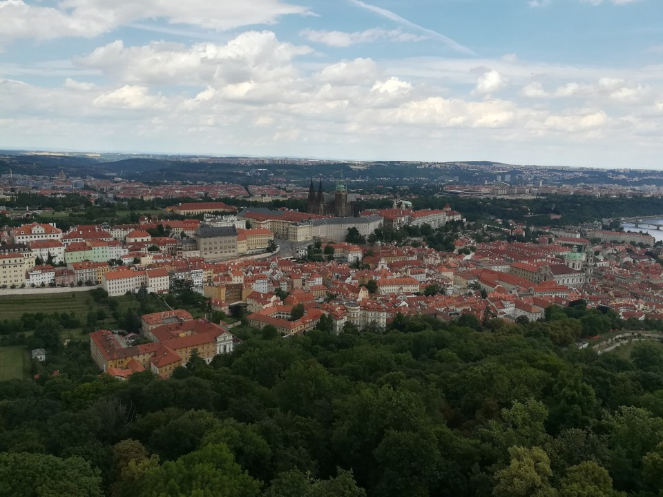 View fo Prague from the tower
