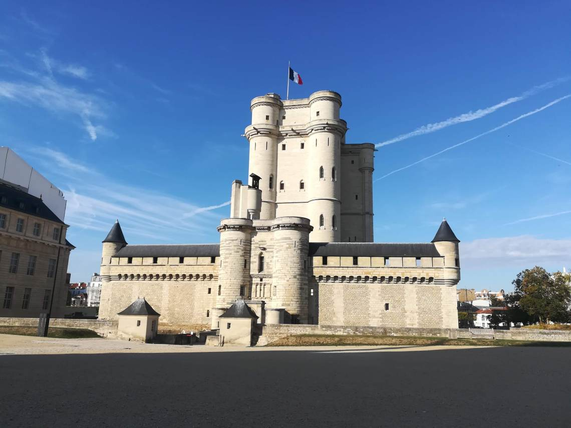 The keep of Château de Vincennes near Paris