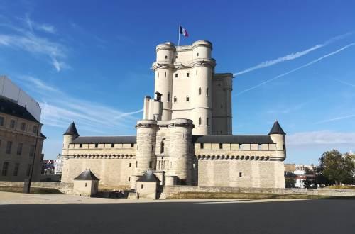 The keep of Château de Vincennes near Paris