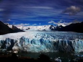 In El Calafate, Patagonia, Argentina lies this beautiful glacier larger than the city of Buenos Aires