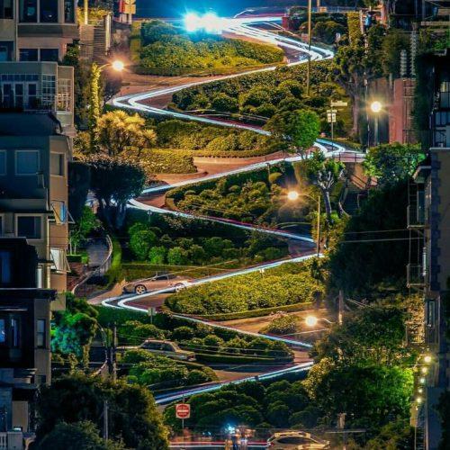 Lombard Street - San Francisco - California