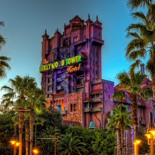 Hollywood Studios Tower - Disney - Theme Park - Orlando - Florida